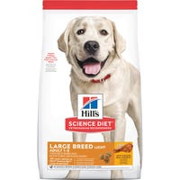 Hills Science Diet Adult Large Breed Light Dry Dog Food - 12kg