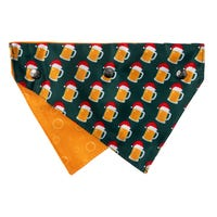 FuzzYard Beermas Christmas Bandana - Small/Medium