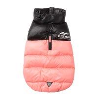 FuzzYard Harlem Jacket Pink Dog Coat - Size 4