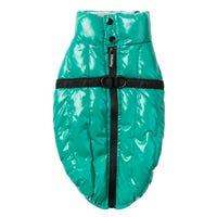 FuzzYard Calabas Jacket Sea Green Dog Coat - Size 6