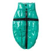 FuzzYard Calabas Jacket Sea Green Dog Coat - Size 7