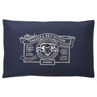 Snooza Organic Cotton Futon Blue Dog Bed - Original