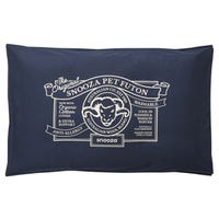 Snooza Organic Cotton Futon Blue Dog Bed - Mighty