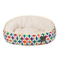 FuzzYard Reversible Jenga Dog Bed - Medium