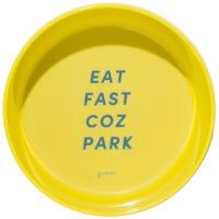 Gummi Bowl Melamine Yellow Dog Bowl - Medium