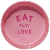 Gummi Bowl Melamine Pink Dog Bowl - Medium