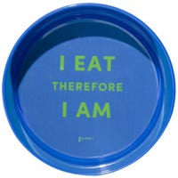 Gummi Bowl Melamine Blue Dog Bowl - Small