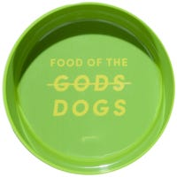 Gummi Bowl Melamine Green Dog Bowl - Medium