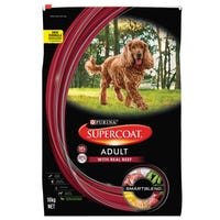 Supercoat Adult Beef Dry Dog Food - 18kg