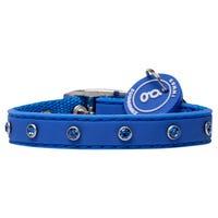 Gummi Collar Bling Blue Dog Collar - Puppy