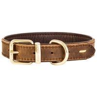 EzyDog Oxford Brown Dog Collar - XXS