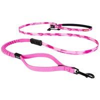 EzyDog  Road Runner Lite 12mm Pink Camo Dog Lead - 210cm