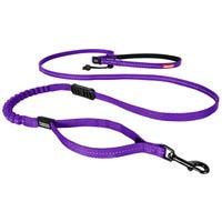 EzyDog  Road Runner Lite 12mm Purple Dog Lead - 210cm