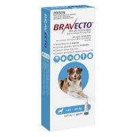 Bravecto Flea & Tick Large Dog 20-40kg Spot On- 1pk