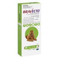 Bravecto Flea & Tick Medium Dog 10-20kg Spot On- 1pk
