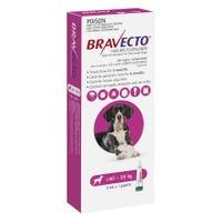 Bravecto Flea & Tick Extra Large Dog 40-56kg Spot On - 1pk