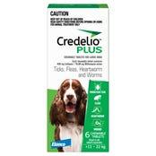 Credelio Plus Dog Flea Tick & Worming Chews 11-22Kg - 6pk