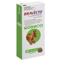 Bravecto Flea & Tick Medium Dog 10-20kg Chew - 1pk