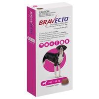 Bravecto Flea & Tick Extra Large Dog 40-56kg Chew - 1pk