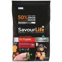 SavourLife Grain Free Puppy Chicken Dry Dog Food - 2.5kg