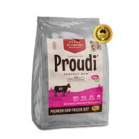 Proudi Dog Beef Frozen Raw Dog Food - 2.8kg