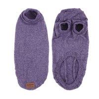 Kazoo Soft Knit Jumper Purple Dog Coat - Intermediate