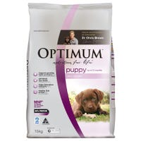 Optimum Dog Puppy Chicken Dry Dog Food - 15kg