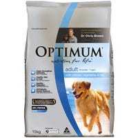 Optimum Dog Chicken Rice & Vegetables Dry Dog Food - 15kg