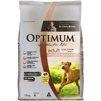 Optimum Adult Large Breed Chicken Dry Dog Food - 15kg