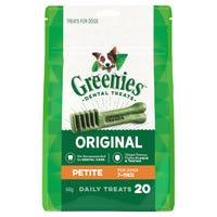 Greenies Treat Petite Dental Dog Treats Pack - 20pk