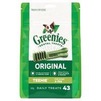 Greenies Treat Teenie Dental Dog Treats Pack - 43pk