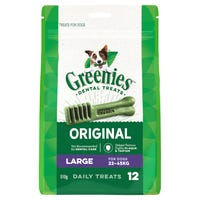Greenies Mega-Pack Large Dental Dog Treats - 510g