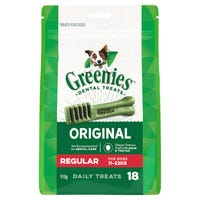 Greenies Mega-Pack Regular Dental Dog Treats - 510g