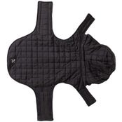 Mog & Bone Puffer Jacket Black Dog Coat - Small