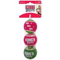 KONG Christmas SqueakAir Ball - 3pk