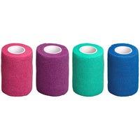 Globalflex Easy Rip Cohesive Bandage 7.5cm x 4.5m - 12pk