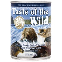 Taste of the Wild Adult Pacific Stream Wet Dog Food - 374g