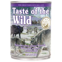 Taste Of The Wild Adult Sierra Mountain Wet Dog Food - 374g
