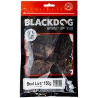 Blackdog Beef Liver Dog Treats - 150g