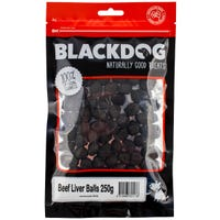 Blackdog Beef Liver Balls Dog Treats - 250g