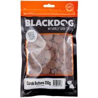 Blackdog Carob Buttons Dog Treats - 250g