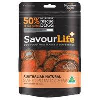 SavourLife Australian Sweet Potato Chews Dog Treats - 165g