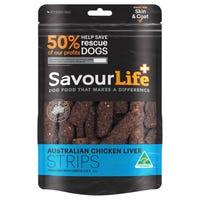 SavourLife Australian Liver Strips Dog Treats - 165g