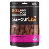 SavourLife Australian Beef Strips Dog Treats - 165g