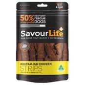 Savour Life Chicken Strips Dog Treats - 165g