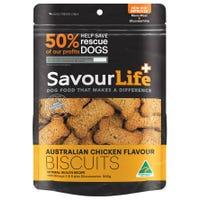 SavourLife Australian Chicken Flavour Biscuits Dog Treats - 500g