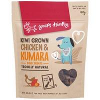 Yours Droolly Chicken Kumara Dog Treats - 100g