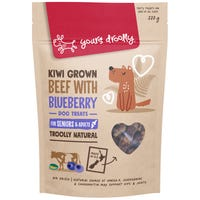 Yours Droolly Hip & Joint Beef With Blueberry Dog Treats - 220g