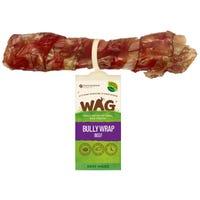 WAG Bully Wrap Beef Dog Treat - Each