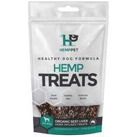 Hemp Treats Organic Beef Liver Dog Treats - 80g